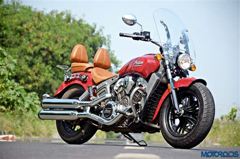 Indian Scout Review  The Big And The Small Of It  Motoroids