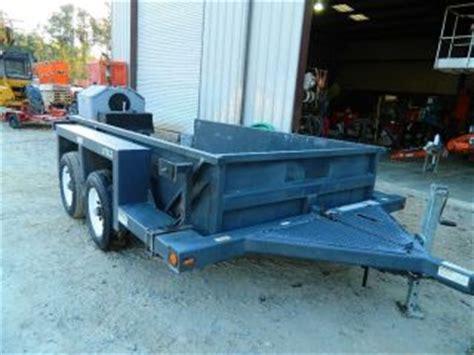jlg drop deck utility trailer heavy equipment trailers commercial vehicle museum