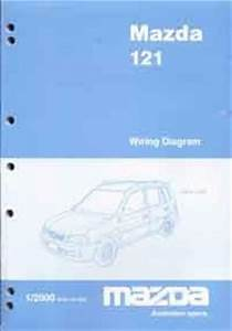 Mazda 121  Dw  Wiring Diagrams 01  2000 On Factory Manual