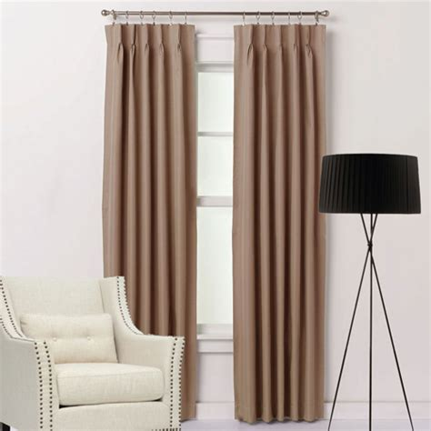 Sheer Curtains For Traverse Rods by What Hooks To Use With Pinch Pleat Curtains And Drapes