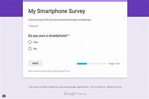 how to make a survey with google docs forms codeholdernet With google doc survey template