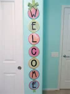 Classroom Door Welcome Sign