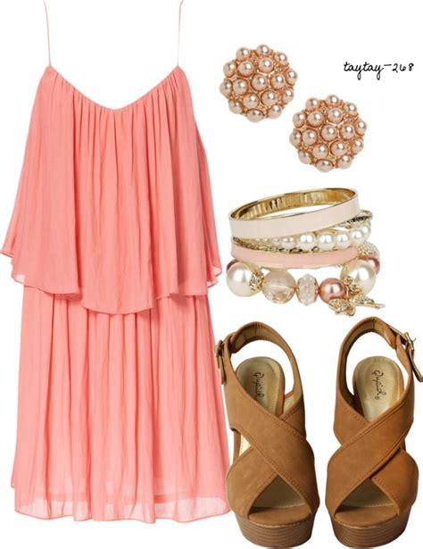 cute polyvore combinations  summer dresses