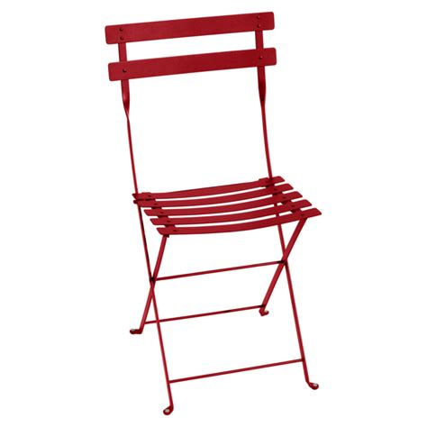 fermob chaise bistro metal chair outdoor furniture