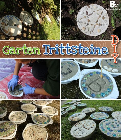 Bunte Trittsteine Fuer Den Garten Herstellen Mit Mosaik Steinchen Und Beton by Gartendeko Archives Seite 2 4 Buntwerkstatt At