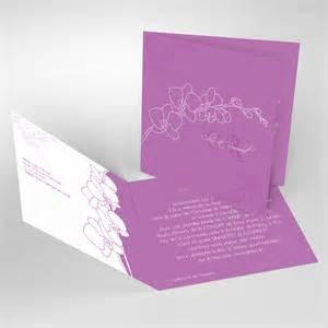 faire part mariage faire part de mariage original pas cher avec photo orchidées réf c21a