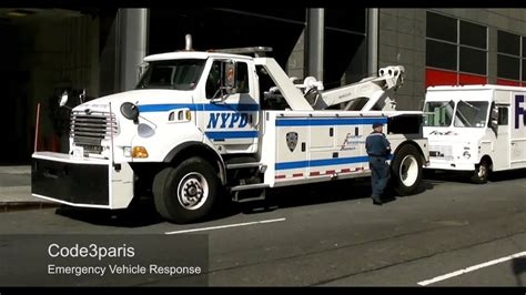 Massive Nypd Police Tow Trucks / Recovery (collection