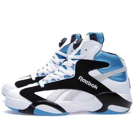 Top 10 Reebok Shaq Attaq Colorways Kicksonfire Com Released Today Reebok Shaq Attaq White Black Blue