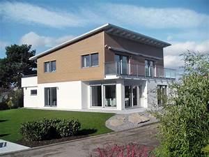 Zweites Haus Auf Eigenem Grundstück Bauen : schw rerhaus bauhausstil mit pultdach in m lheim k rlich ~ Orissabook.com Haus und Dekorationen