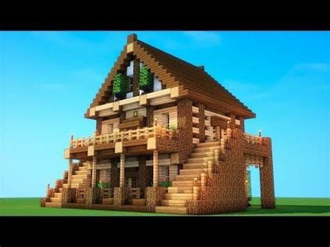epic survival   build  survival house minecraft mansion easy minecraft houses