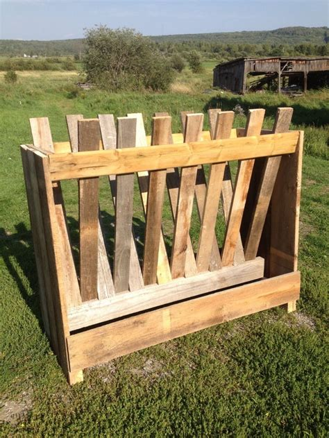 goat hay feeder goat hay feeder new goat feeder i built out of stack