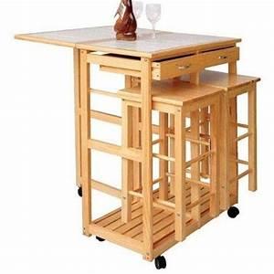 Table De Cuisine Pliante Ikea : table desserte et tabourets ~ Melissatoandfro.com Idées de Décoration