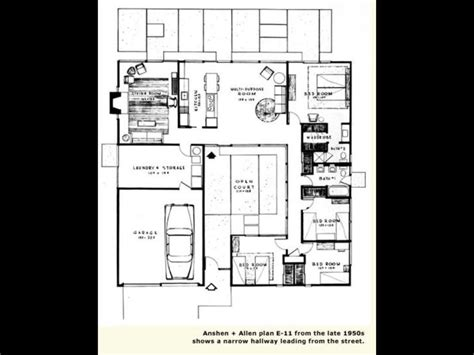 images  eichlers exteriors  pinterest front courtyard eichler house  modern