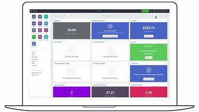 Dashboard Square Overview Squareup App Customize Support