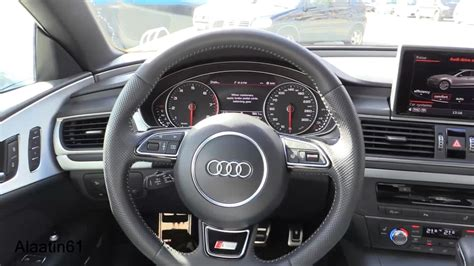audi  sportback  interior review test drive youtube