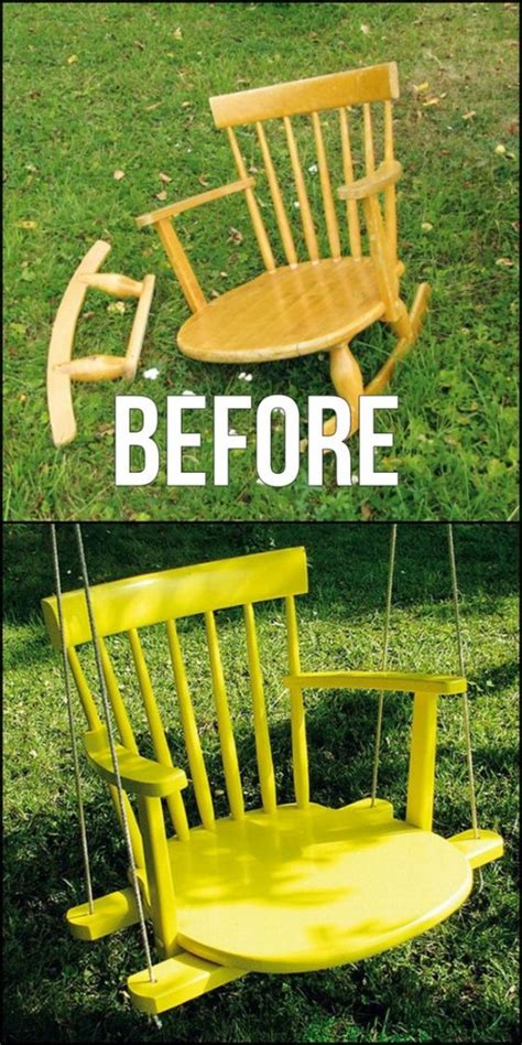 Wonderful Ways To Repurpose Old Chairs The Shabby Creek