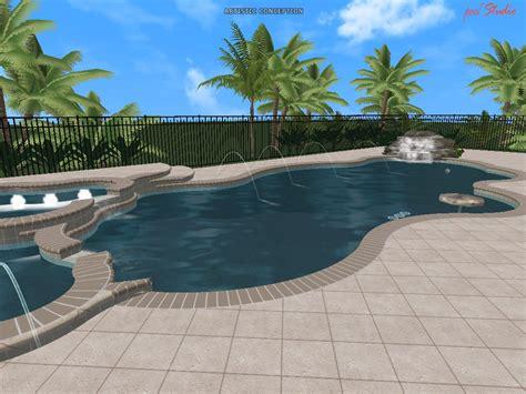 Pool : Swimming Pool Design Ideas In 3d