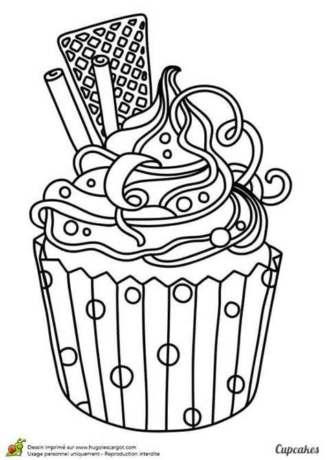 cup cakes coloring pages images  pinterest
