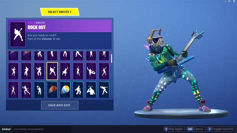 "Fortnite ""dj Yonder"" Skin Showcased With 90+ Danceemotes"