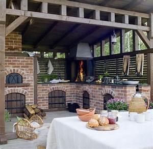 1001idees d39amenagement d39une cuisine d39ete exterieure With construction cuisine d ete exterieure