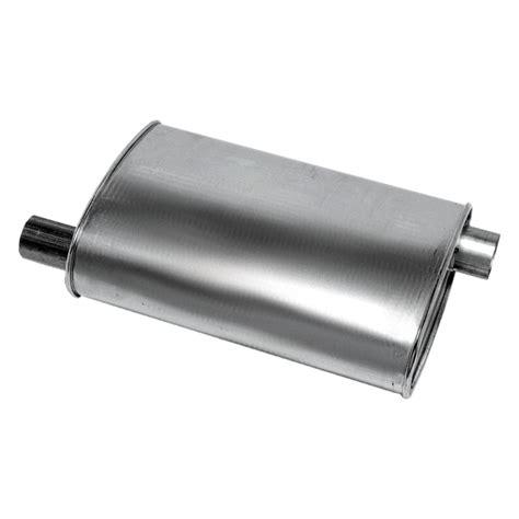 muffler quiet oval exhaust steel intrepid dodge front soundfx aluminized