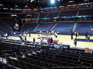 Fedex Forum Section 106 Memphis Grizzlies