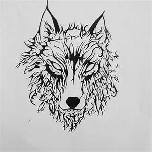 wolf tattoo pencil desing | Drawings and desings ...