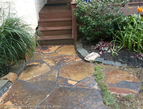 flagstone sidewalk flagstone walkways natural stone hardscape contractor