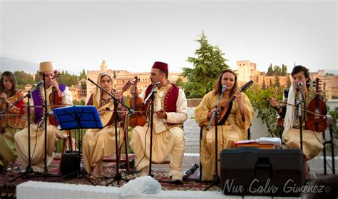 music andalusian algeria andalus al tlemcen dar granada concert maghreb countries