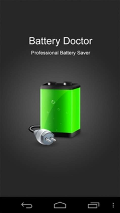 battery doctor for android tablets battery doctor arguably the best free android battery