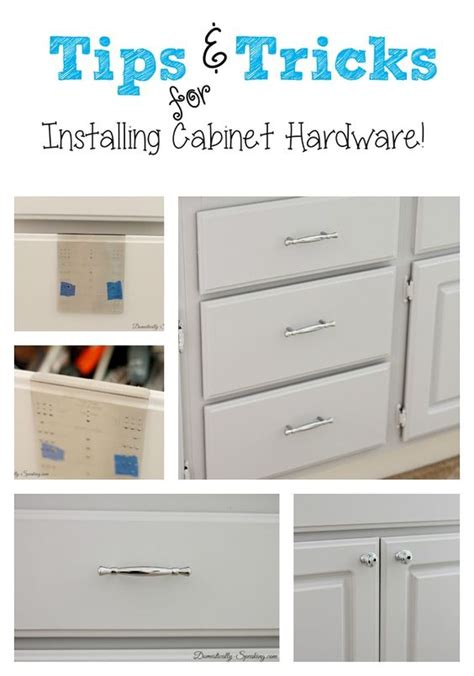 putting drawers in kitchen cabinets installing cabinet hardware the easy way simple 7613