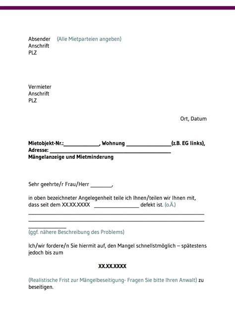 Maengelruege Und Maengelbeseitigung by 13 Musterbrief M 228 Ngelbeseitigung Monolith Mis
