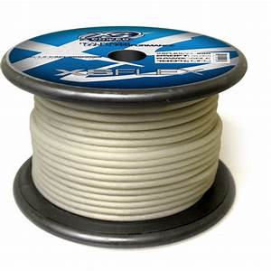Xs Flex Clear 8awg Cable
