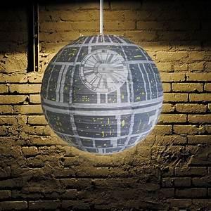 Star Wars Decke : star wars todesstern licht schatten klappbar papier decke schirm offiziell merch ebay ~ Orissabook.com Haus und Dekorationen