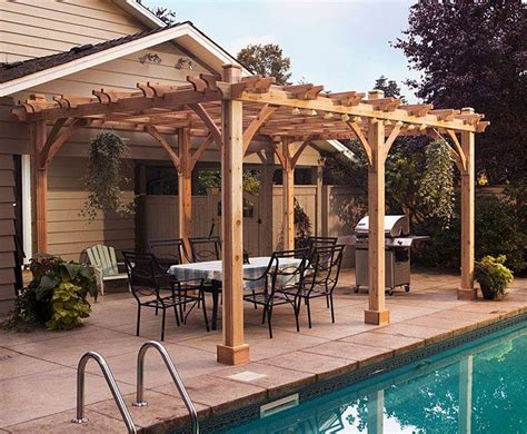 wood pergola designs and plans pergola plan woodworking projects plans