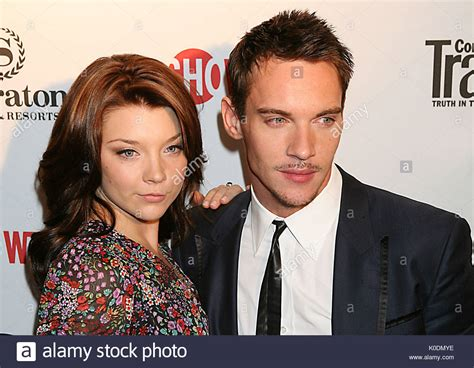 Natalie Dormer And Jonathan Rhys Meyers by Natalie Dormer And Jonathan Rhys Meyers At The World