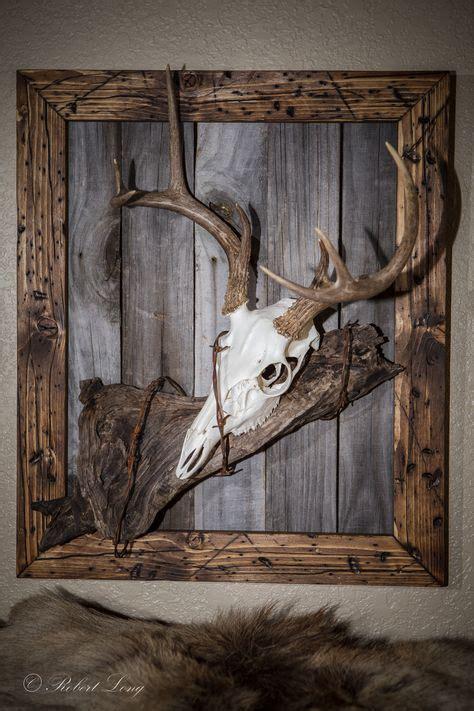 De 25+ Bedste Idéer Inden For Painted Deer Skulls På