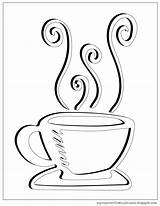 Coloring Tea Cup Coffee Pages Clipart Overflows Getdrawings Decided Turned Done Never Something Ve Before Into Template sketch template