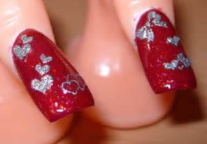 Red nail art fashion belief