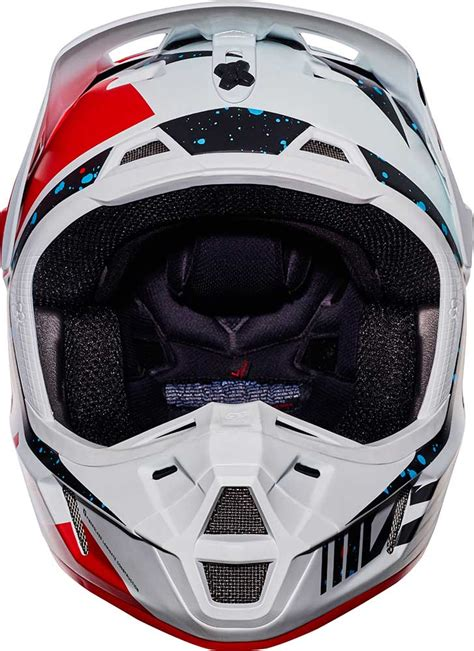 mens motocross helmets 2017 fox racing v2 nirv helmet motocross dirtbike