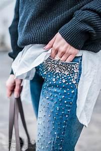 Jeans Mit Strass Und Perlen : jeans mit perlen volume 2 julies dresscode ~ Frokenaadalensverden.com Haus und Dekorationen