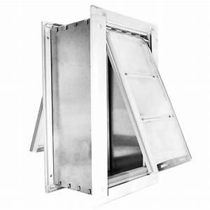 endura flap 18 in x 10 in large for walls endura flap With endura flap dog door