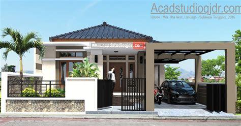 contoh desain rumah ukuran    rumah xy