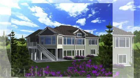 Walkout Basement House Plans Ahmann Design Inc YouTube