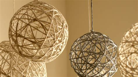 Yarn Ball Christmas Ornaments