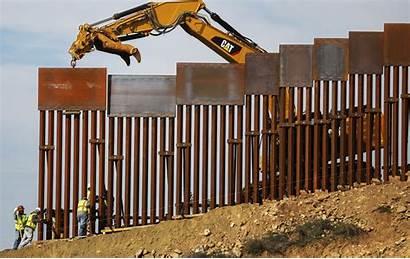 Border Wall Mexico Construction Trump Walls Installs