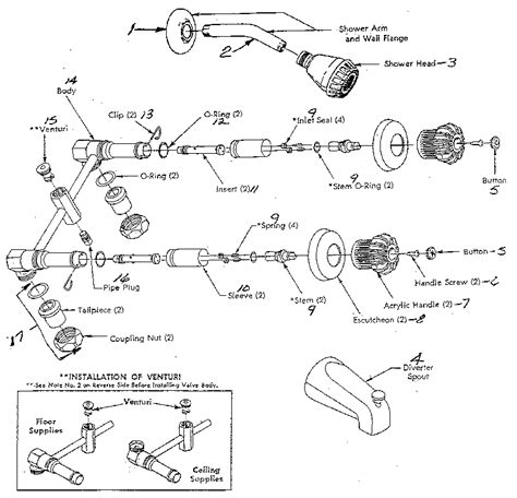 Shower Faucet Parts by Shower Faucet Repair Can Be More Complex Than Expected