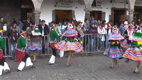 According to archaeological findings, the incas played many musical instruments such as the pan flute, drums, bells, seashell trumpets and the pan pipes are still used in many folkloric songs in peru. Cusco - Inca Dance - YouTube