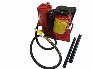 20 Ton Air Manual Power Over Hydraulic Portable Low