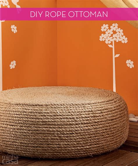 Diy Rope Ottoman  Non Stop Diy. The Patio Restaurant Liverpool. Outdoor Patio Swing Cushions. Porch Design Pictures Uk. How To Install Urbanite Patio. Install Gazebo On Patio. Plastic Patio Chairs Dollar General. Island Living Patio West Palm Beach. Patio Design Kansas City
